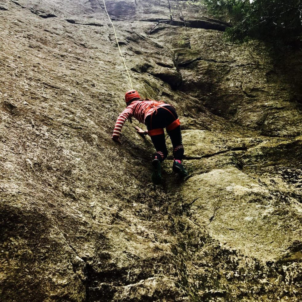 Rock Climbing outings with Next Level Adventures