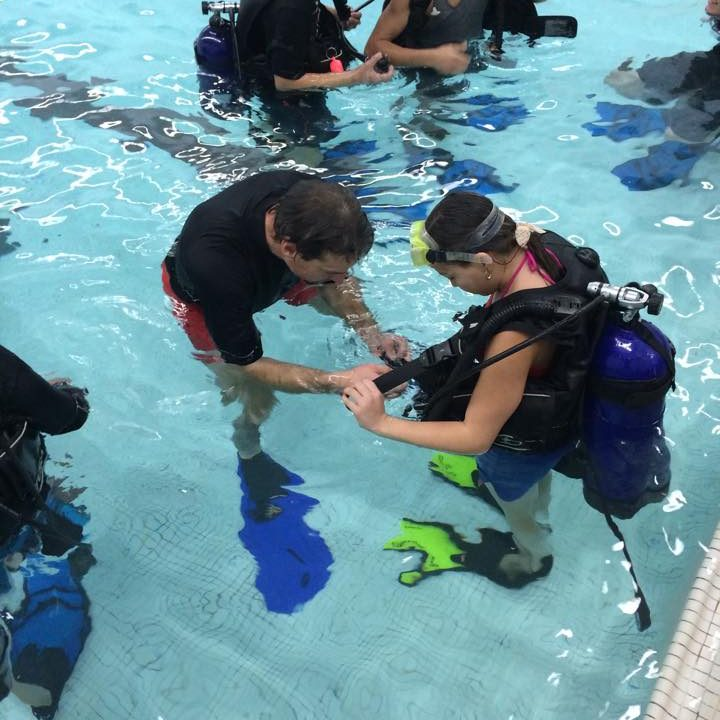 Scuba Diving in Western Mass for youth