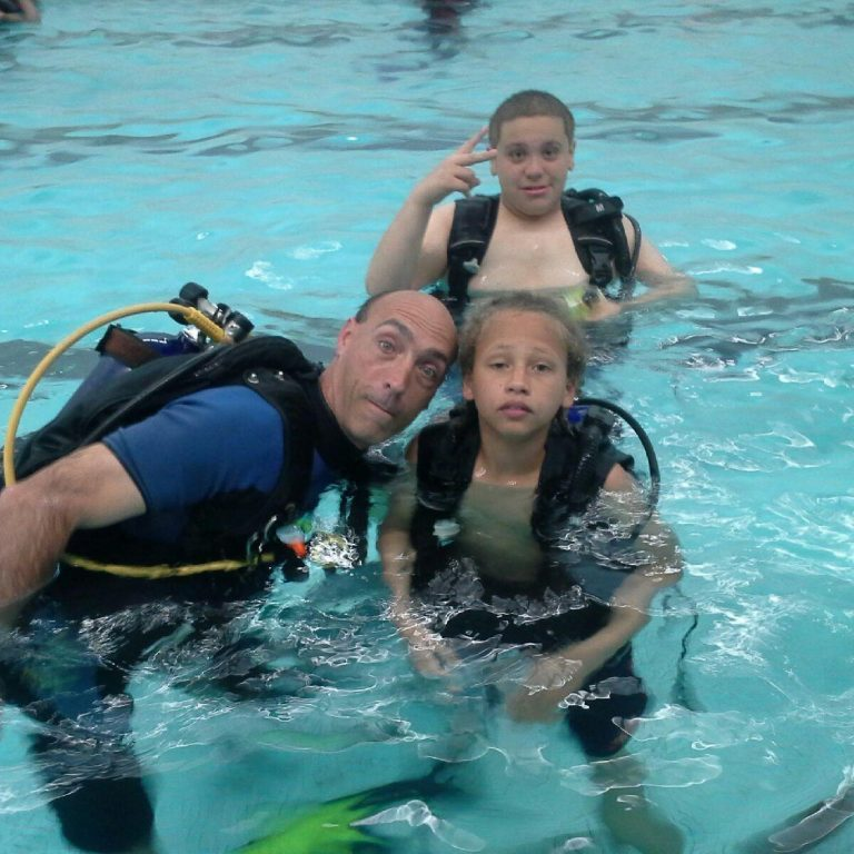 Indoor Scuba diving with NLA